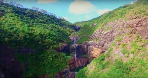 7 cascades waterfall