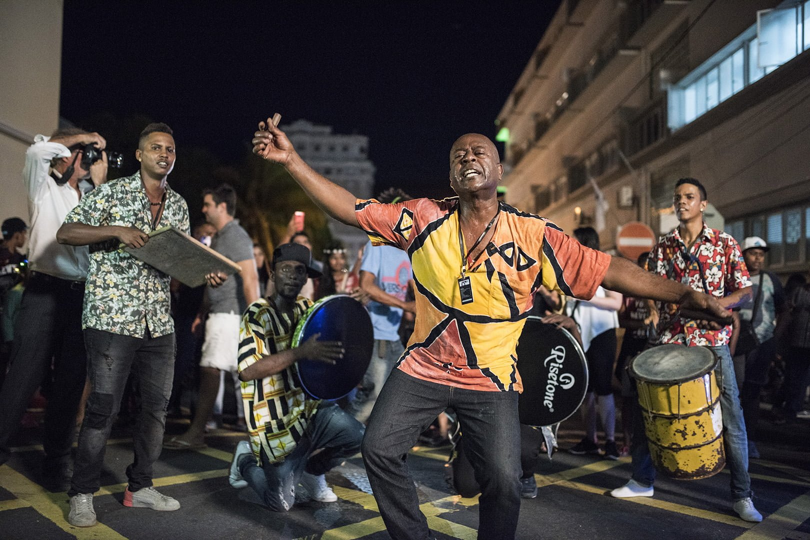 Street Performance - Porlwi by Nature - Live in Mauritius