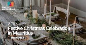 christmas in mauritius, christmas on an island