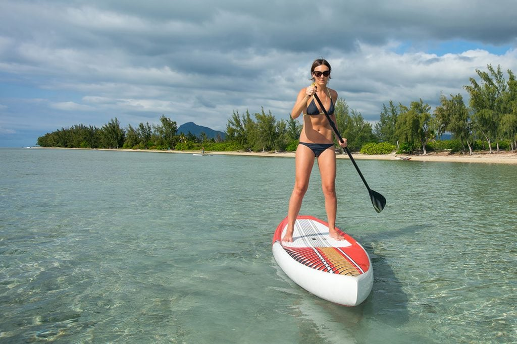 SUP Stand Up Paddle Mauritius - Ile Maurice