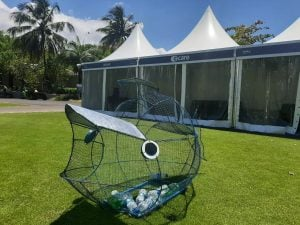 afrasia bank mauritius open, heritage ile maurice, recycle, golf tournament