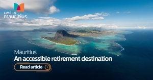 retirement destination, retire in mauritius