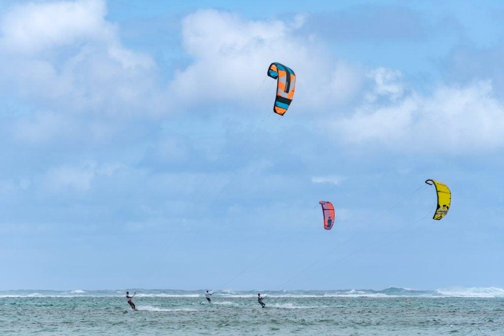 kitesurf, gka, gka mauritius, heritage villas valriche, sud, découverte, activités dans le sud, kitesurf ile maurice, activité aquatique