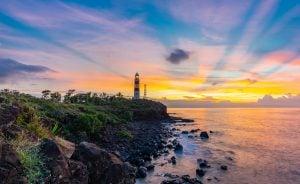 covid19, mauritius at dawn, albion lighthouse, albion mauritius